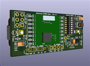 Mysensors RFM69W multisensor node(CR123)