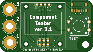 Component Tester Keychain
