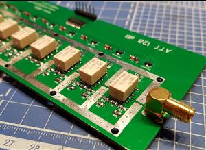 RF 127 dB attenuator step switch R2AJI