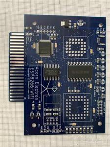 Acorn Electron WiFi boards mk2 four layer board