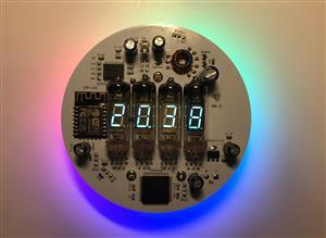 VFD Clock IV-6  IV-2,  IV-3,  IV-3А,  IV-8 & ESP12(ESP8266) WiFi