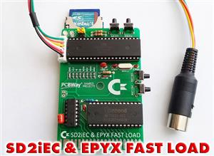 (DIY) SD2iEC & EPYX FAST LOAD CARTRIDGE FOR COMMODORE 64