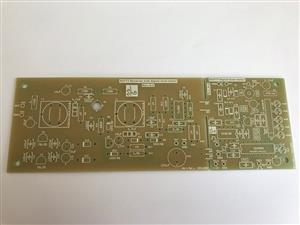 Circuit board for DCF77-Receiver with Signal level meter