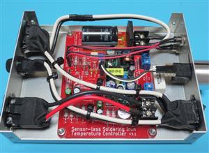 Sensor-less Soldering Iron Temperature Controller