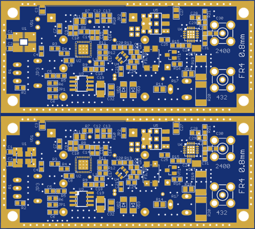 UP converter 2400 MHz