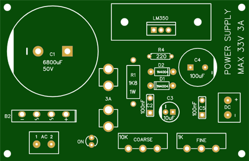 LM317/350/338 Power Supply