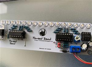 RAIN DROP LED LIGHT dual 74HC595