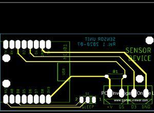 Board for Wemos D1 mini / Lolin D1 mini Pro ESP8266 module.