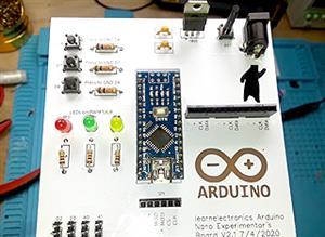 Arduino Nano Experimenter's Board