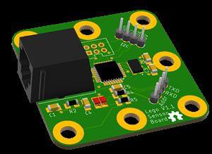 Lego sensor adapter - Use Lego EV3 sensors with Arduino