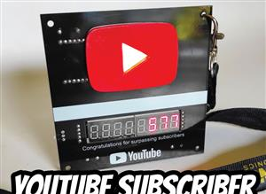 YouTube Subscriber Counter ESP8266 Wemos