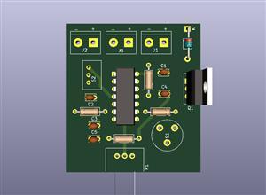 Control Pulse Width Modulation with NE556