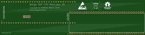 Amiga 500 CPU Relocator V5