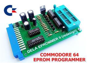 C64 EPROM PROGRAMMER (DELA EPROMMER II - REDRAWN)