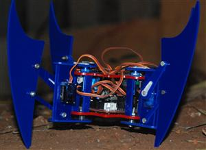 """Miles"" the Open-Source Quadruped Spider Robot"