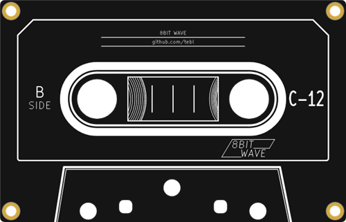 8BitWave Backplate