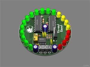 LED Tachometer LM3914