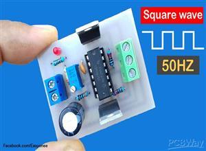 How to make inverter 12V To 220V Square wave using CD4047 | 50HZ