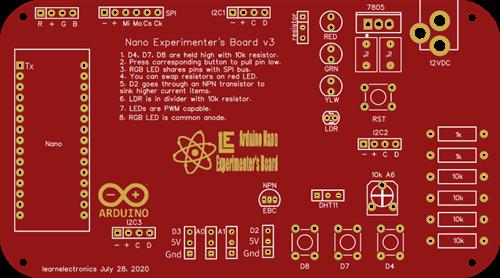 Nano Experimenter's Board v3