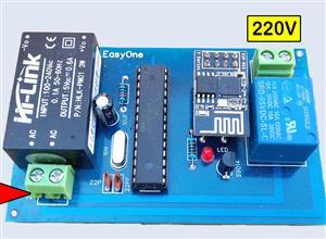 diy control light using ESP8266 wifi | remotexy & 2020