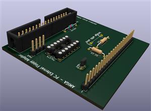 Amiga External Floppy PC drive interface
