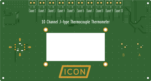 10 Channel Thermometer
