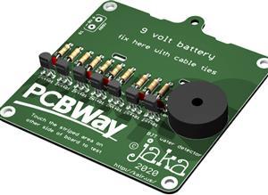BJT water detector