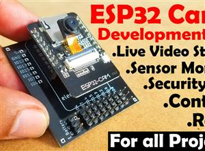 ESP32 Camera Development Board Bottom Circuit board