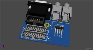 Amiga 1200 Expansion Modul - VGA/AUDIO