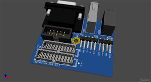 Amiga 1200 Expansion Modul - VGA/USB/AUDIO