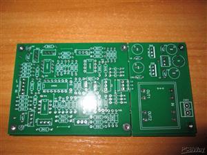 Analogue indicator control system (VU-meter)