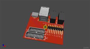 Amiga 1200 Expansion Module - HDMI/USB/AUDIO