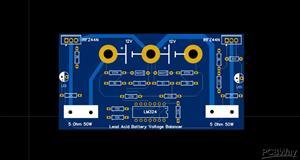 Battery Equalizer / Battery Balancer for 12V batteries (24V battery bank)