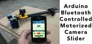 Arduino Motorized Camera Slider