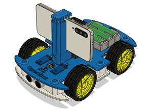 """PCB V1 for """"OpenBot: Turning Smartphones into Robots"""""""
