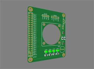 Raspberry Pi cooling expansion board