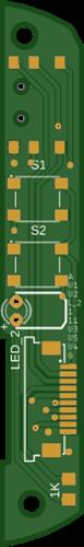mutantC v3 - ThumbStick PCB