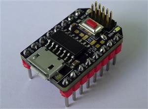 Development Board for Atmel's SAMD09  Microcontroller