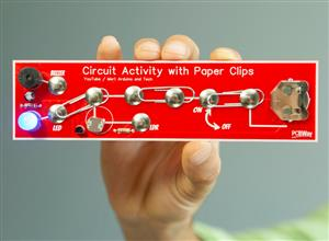 DIY Circuit Activty Board with Paperclips | MAKER | STEM
