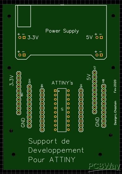 ATtiny's development board