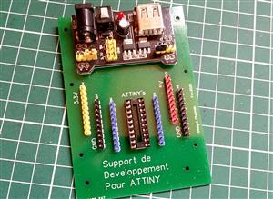 ATtiny's development board