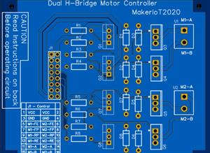 Dual Channel DC Motor Controller
