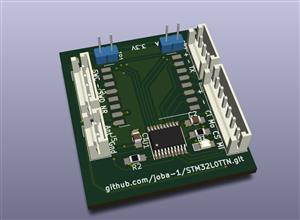 Button Cell TTN Node Sensor for Temperature, Pressure and Humidity