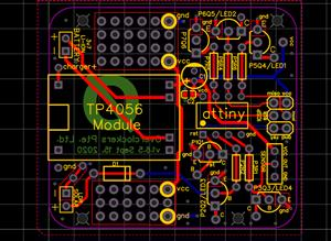 Attiny85 Breakout for LED Projects