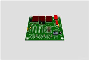 Making a digital-base 3-digit counter using 4553 IC