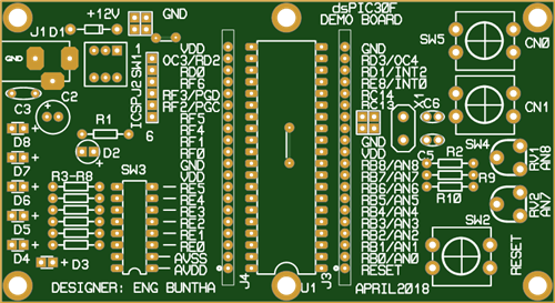 Making a dsPIC30F3011 prototyping board