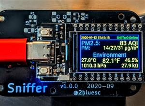Sniffer Air Quality Monitor