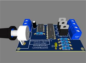Hard Disk Stepper Motor Speed Controller