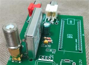 Minimal TEF6686 radio