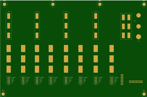 Backplane for a power supply